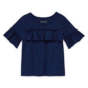 NWT Okie Dokie baby round short sleeve shirt